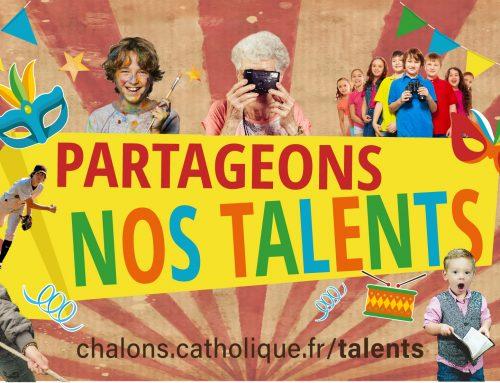 Partageons nos talents : parlons-en !