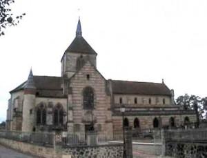 Église de style gothique, construite au XIIIème siècle.