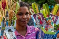 Dimanche des Rameaux en Colombie