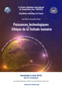 Puissances technologiques et éthique de la finitude humaine