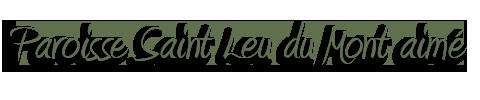 Paroisse Saint Leu du Mont-Aimé Logo