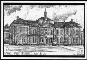 L'hôtel de ville de Sainte Ménehould