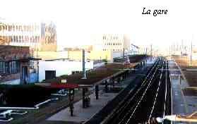La gare de Châlons en Champagne